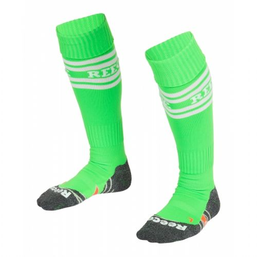 Reece College Socks Neon Green Junior Girls